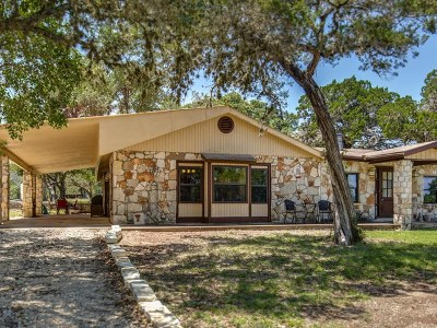 Kerrville Single Family Home For Sale: 845 Upper Turtle Creek