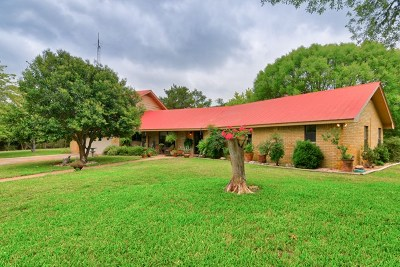 Medina Single Family Home For Sale: 21851 Hwy 16N