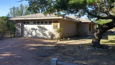 Kerrville Single Family Home For Sale: 356 Pleasant Valley Dr