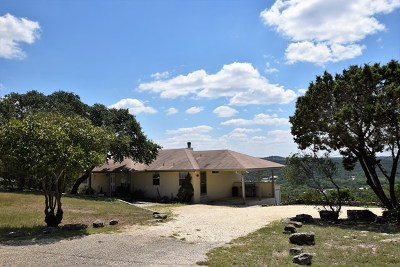 Hunt Single Family Home For Sale: 200 Rustic Hills Rd