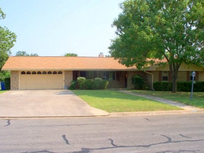 Kerrville Single Family Home For Sale: 109 Wedgewood Lane