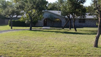 Kerrville Single Family Home For Sale: 105 Royal Oaks Loop