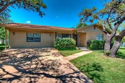 Kerrville Single Family Home For Sale: 628 Galbraith Ave