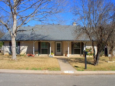 Kerrville Single Family Home For Sale: 1118 Hancock Dr