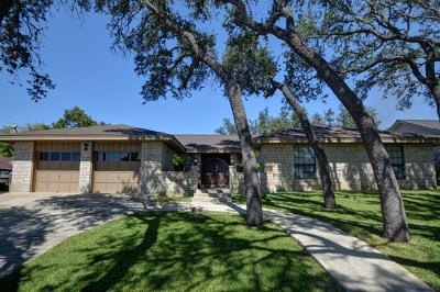 Kerrville Single Family Home For Sale: 2106 West Ridge Circle