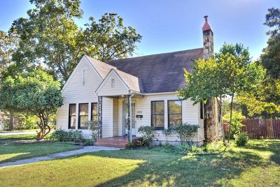 Kerrville Single Family Home For Sale: 501 Water St
