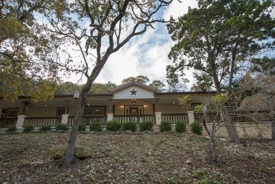 Kerrville Single Family Home For Sale: 23307 Medina Hwy