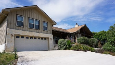Kerrville Single Family Home For Sale: 230 Goat Creek Cutoff