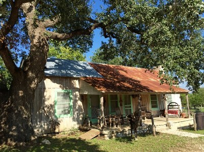 Bandera Single Family Home For Sale: 210 9th St.