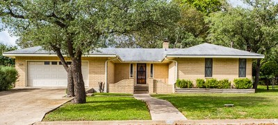 Gillespie County, Kerr County, Kimble County, Bandera County, Real County, Edwards County, Mason County, Uvalde County, Medina County, Kendall County Single Family Home For Sale: 112 Timber Lane