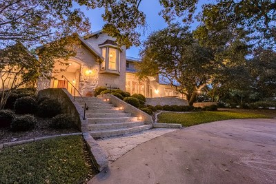 Kerrville Single Family Home For Sale: 404 Overlook Dr