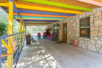 Kerrville Single Family Home For Sale: 154 Wood Trail
