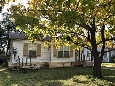 Kerrville Single Family Home For Sale: 607 Florence St