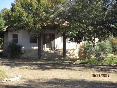 Center Point Single Family Home For Sale: 117 Verde Hills
