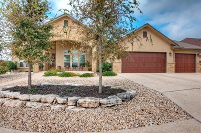 Kerrville Single Family Home For Sale: 1801 Canyon View Circle