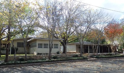 Fredericksburg Single Family Home For Sale: 501 Schubert