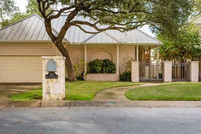 Kerrville Single Family Home For Sale: 511 Oakland Hills Lane