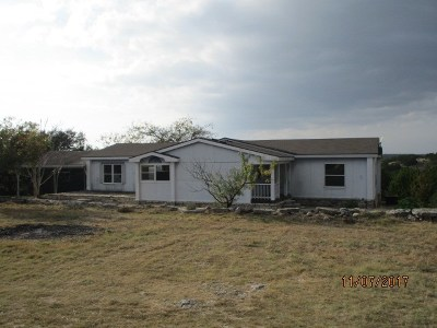 Kerrville Single Family Home For Sale: 185 Indian Hills