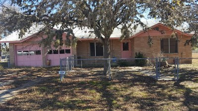Comfort Single Family Home For Sale: 242 Bartel Rd
