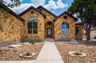 Kerrville Single Family Home For Sale: 1829 Summit Ridge Dr