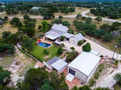Kerrville Single Family Home For Sale: 1701 Landmark Road