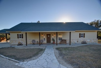 Kerrville Single Family Home For Sale: 988 Estates Dr