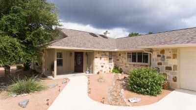 Kerrville Single Family Home For Sale: 160 Crockett Dr