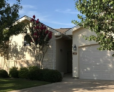 Kerrville Single Family Home For Sale: 2801 Indian Wells Dr