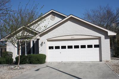 Kerrville Single Family Home For Sale: 2510 Boyington Lane