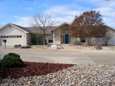 Kerrville Single Family Home For Sale: 2115 Bluff Ridge Dr
