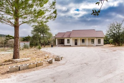 Kerrville Single Family Home For Sale: 1370 Ranchero Rd