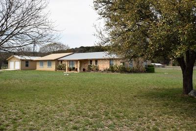 Hunt TX Single Family Home For Sale: $345,000