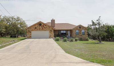 Kerrville Single Family Home For Sale: 195 Mull Rd