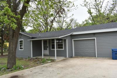 Kerrville Single Family Home For Sale: 2817 Hunt St