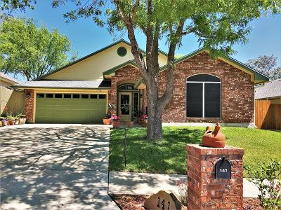 Kerrville Single Family Home For Sale: 141 Los Cedros Loop