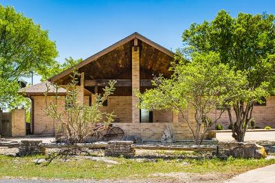 Hunt Single Family Home For Sale: 258 Cave Springs Dr