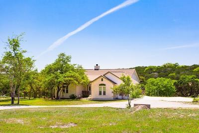 Kerrville Single Family Home For Sale: 482 Pleasant View