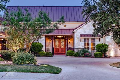 Kerrville Single Family Home For Sale: 3957 Oak Park Dr