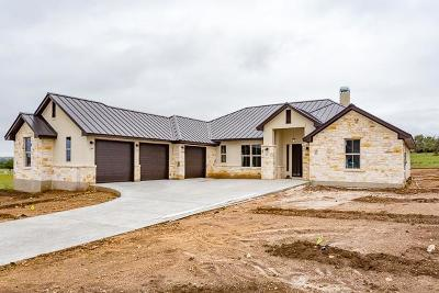 Kerrville Single Family Home For Sale: 1008 Pinnacle View Dr