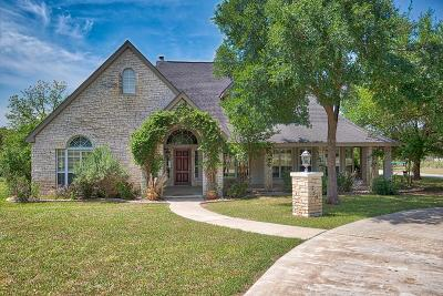 Kerrville TX Single Family Home For Sale: $575,000