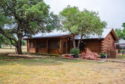 Camp Wood TX Single Family Home For Sale: $495,000
