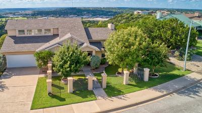 Kerrville Single Family Home For Sale: 2016 Vista Ridge Dr