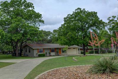 Kerrville Single Family Home For Sale: 1427 Jackson Rd