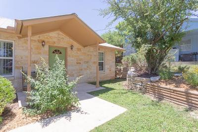 Kerrville Single Family Home For Sale: 112 Homer Dr