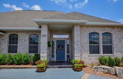 Kerrville Single Family Home For Sale: 1724 Mountain Laurel View N