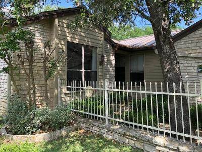 Kerrville Single Family Home For Sale: 2201 Rock Creek Dr
