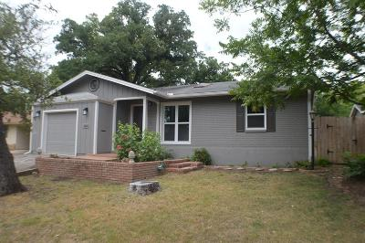 Kerrville Single Family Home For Sale: 805 Bluebonnet Dr