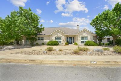 Kerrville Single Family Home For Sale: 2000 Vista Ridge Dr
