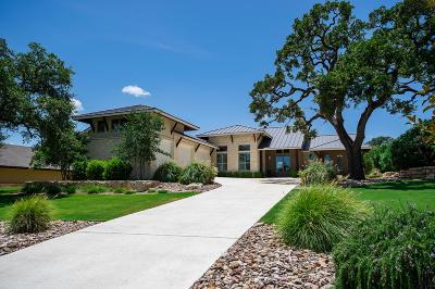 Kerrville Single Family Home For Sale: 3932 Oak Park Dr