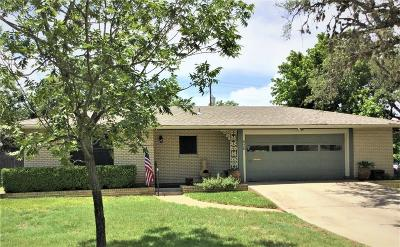 Kerrville Single Family Home For Sale: 626 Galbraith Ave